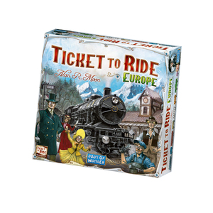 领【2元券】购买Ticket to Ride: The Cross-country Train Adventure Game  桌游