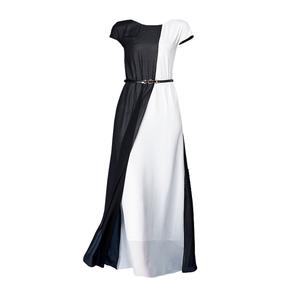 贵夫人反季真丝女夏2021新款连衣裙