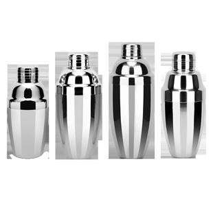 包郵加厚不鏽鋼調酒器日式搖酒壺調酒壺實用雪克杯酒具單隻裝