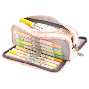 女简约大容量创意网红多功能铅笔袋