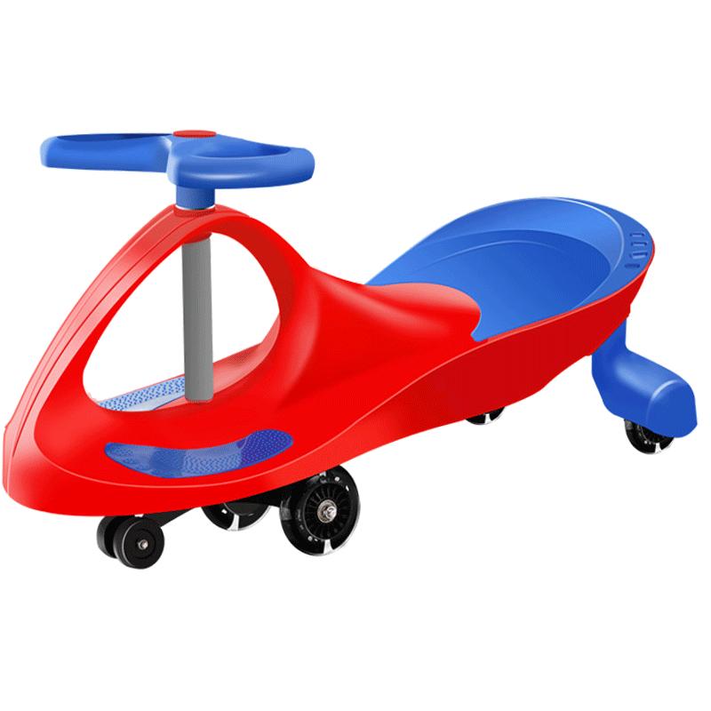 孩智乐扭扭车儿童溜溜车万向轮1-3-6岁男孩女宝宝滑行摇摆妞妞车