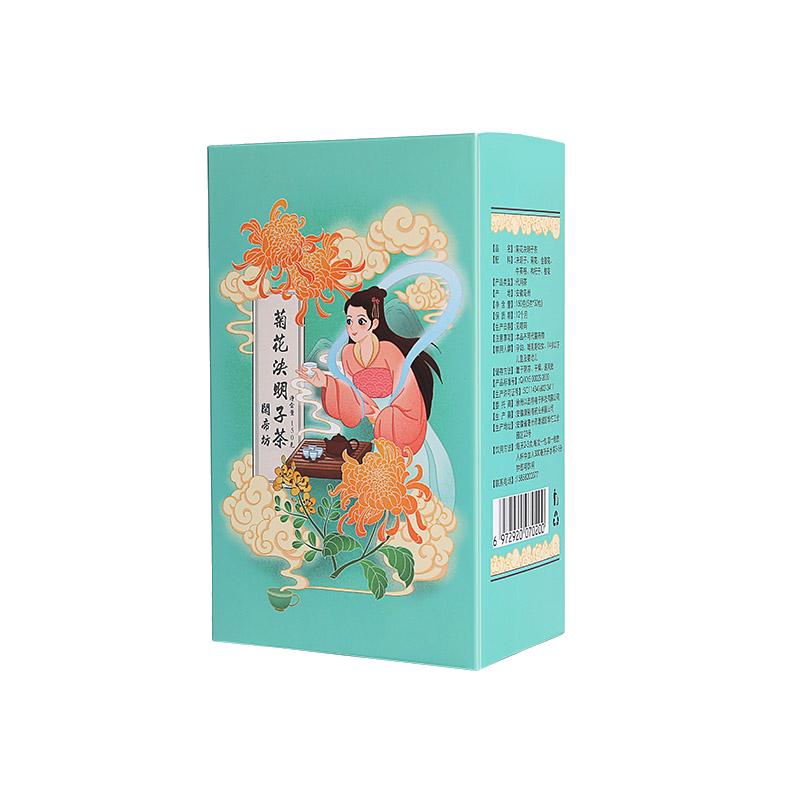菊花决明子枸杞金银花养生茶