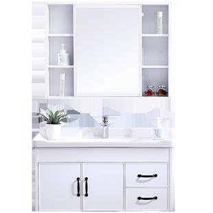 浴室櫃套裝衞生間洗漱台洗手洗臉盆現代簡約輕奢小户型衞浴櫃組合