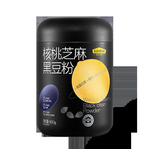 【五谷磨房】黑芝麻糊核桃粉代餐粉600g