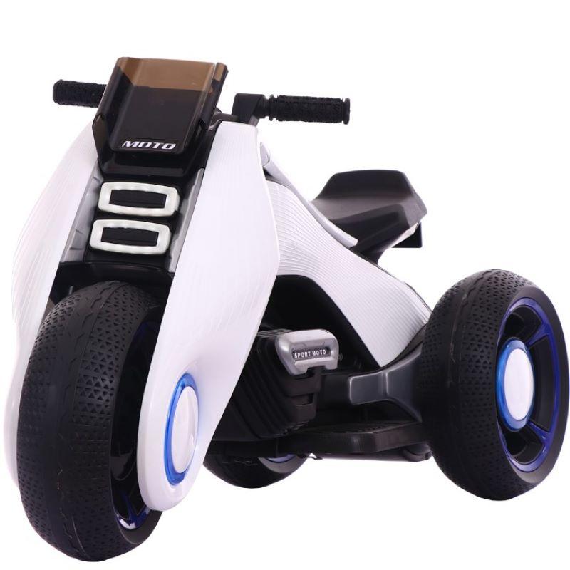 儿童电动摩托车小孩玩具男孩三轮车