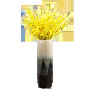 景德鎮陶瓷落地花瓶大號乾花裝飾擺件中式客廳現代簡約歐式插花高