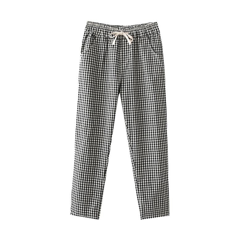 黑白条休闲裤怎么穿搭:休闲裤穿搭