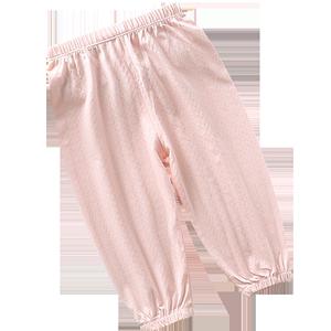 防蚊裤夏天长裤网纱男童儿童裤子