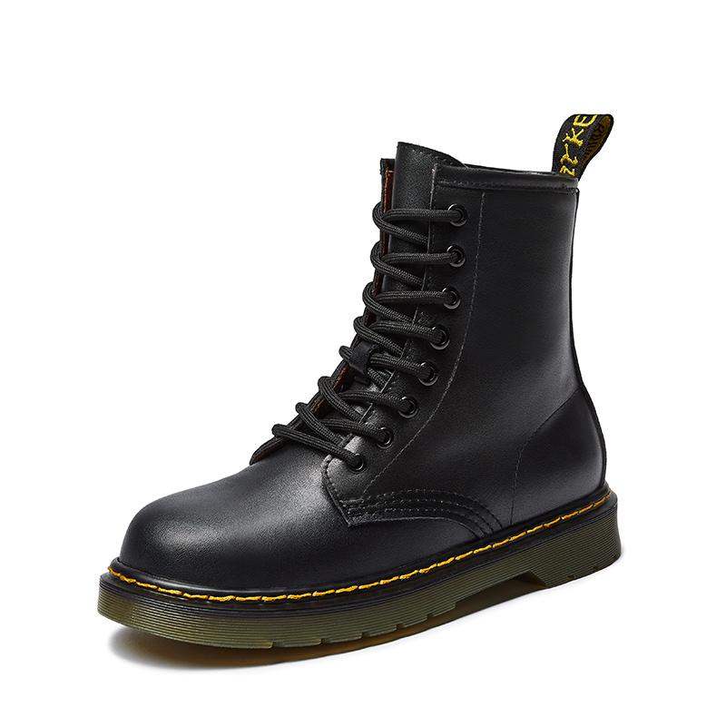 卓诗尼英伦风2020新款百搭潮马丁靴质量如何