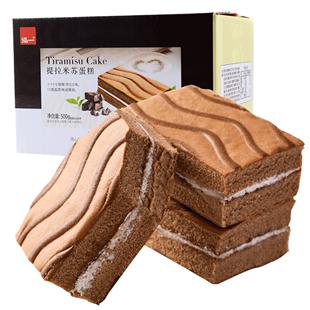 泓一提拉米蘇蛋糕零食小吃麪包早餐休閒食品營養學生充飢夜宵整箱