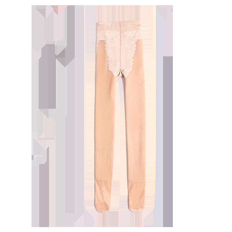 西小妖光腿神器春秋冬季薄款肉色加绒打底裤