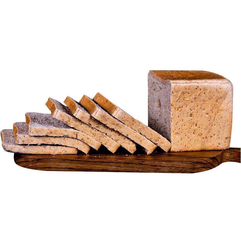 遇见谷语黑麦全麦吐司糖精无油面包