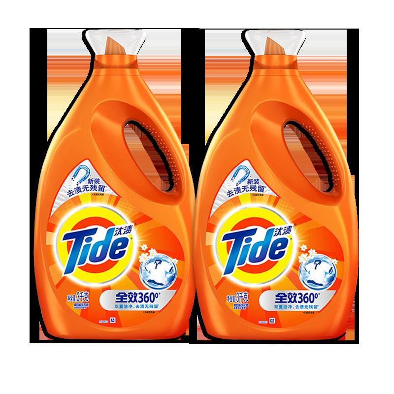 汰渍洗衣液促销组合装家用1.4kg