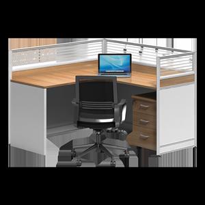 职员办工桌卡座简约现代办公桌椅