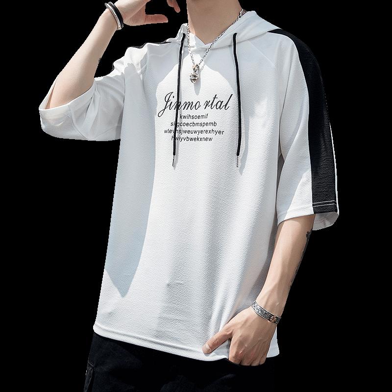 春季男运动休闲卫衣长袖T恤