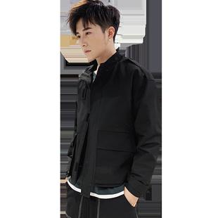 男士秋季2019新款韩版潮流工装夹克