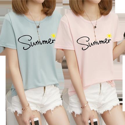 夏季短袖新款2019韩版潮学生t恤