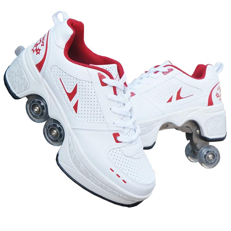agloat变形鞋成人暴走鞋儿童轮滑鞋