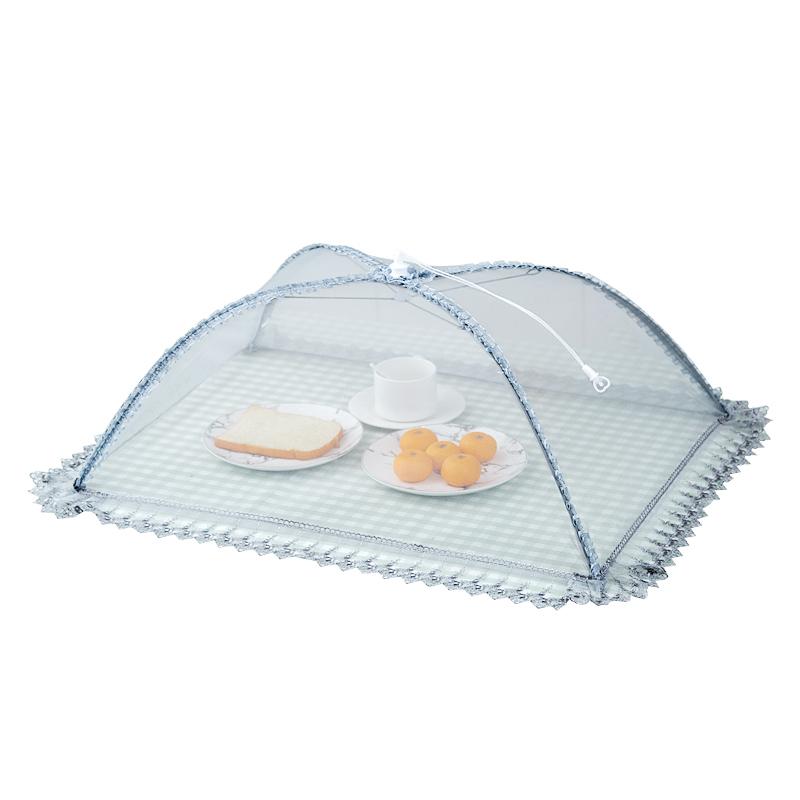 菜罩长方形家用可折叠防苍蝇盖菜罩食物罩饭菜罩餐桌罩剩菜罩饭罩