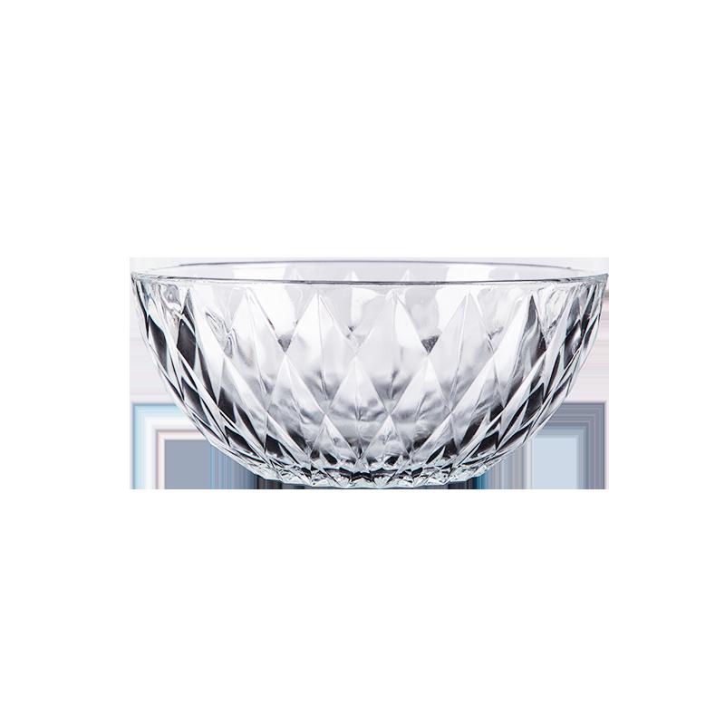 透明玻璃碗家用水果沙拉碗单个网红学生泡面创意耐热汤碗餐具
