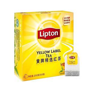 lipton /立顿红茶包袋泡茶100