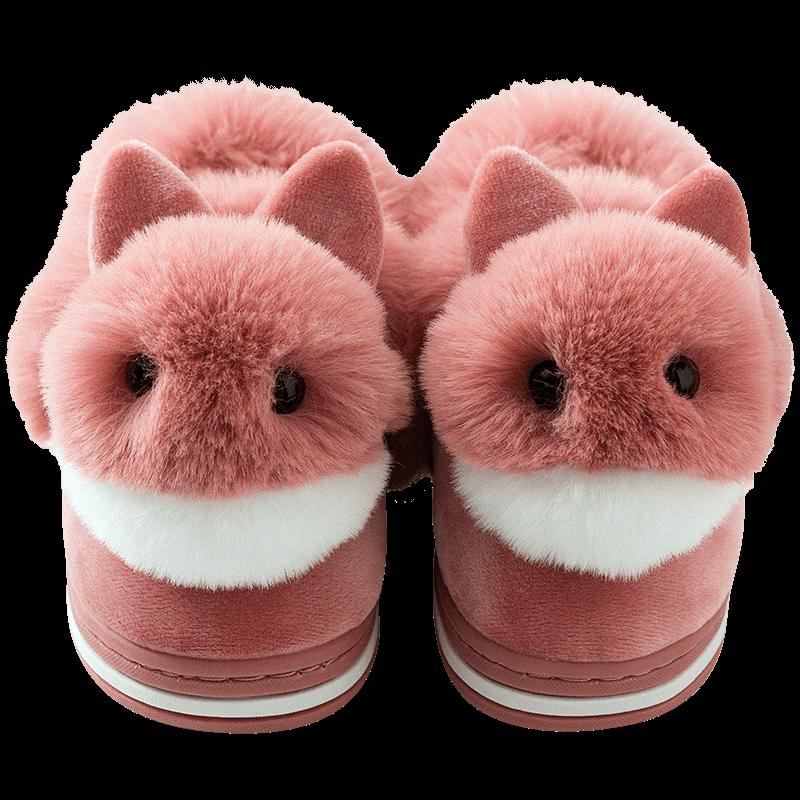儿童棉拖鞋秋冬女包跟1-3岁2宝宝男婴儿棉鞋居家防滑保暖女童小孩
