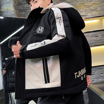 2019新款男士冬季韩版潮流羽绒棉服