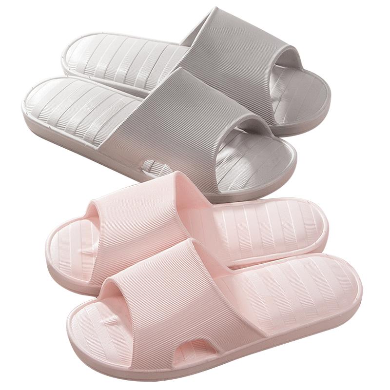 浴室拖鞋女士夏季居家用室内洗澡塑胶软厚底防滑情侣家居拖鞋凉拖