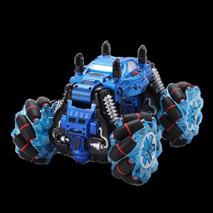 四驅遙控越野車變形特技高速漂移攀爬車兒童玩具男孩遙控扭變汽車