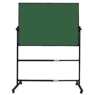 凱微白板支架式移動黑板牆家用辦公室小白板掛式教學培訓立式白班寫字板雙面磁性大黑板支架式家用兒童記事板