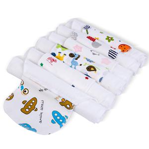 植护宝宝吸汗巾5条装儿童出汗巾棉质后背婴儿隔背汗巾幼儿园4-6岁