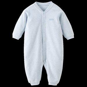 【热销】丽婴房婴儿衣服男女童内衣连体衣宝宝哈衣爬服春秋款