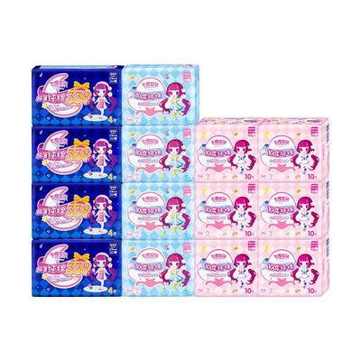 七度空间少女日夜组合姨妈巾96片