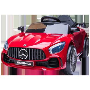 嬰兒童電動車奔馳四輪遙控汽車寶寶玩具車可坐人男女小孩4驅童車