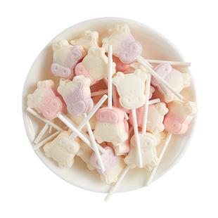 无蔗糖创意可爱牛头儿童奶棒糖