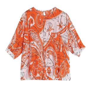 碎花设计感小众轻熟夏季复古衬衫