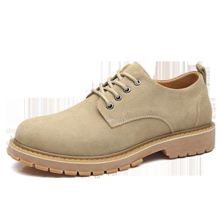 真皮马丁鞋复古低帮春季英伦马丁靴