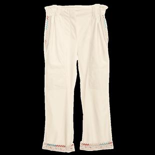 裂帛直筒寬鬆休閒運動褲子女2020春款新款工裝金絲絨闊腿煙管褲