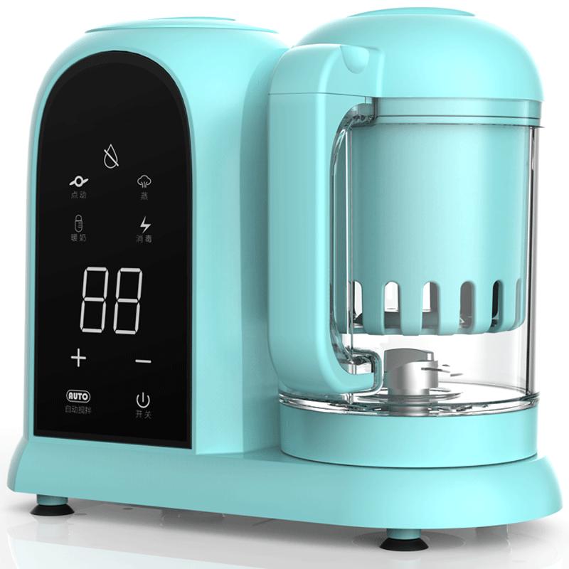 婴儿辅食机蒸煮一体宝宝辅食料理机多功能加热搅拌专用小型研磨器