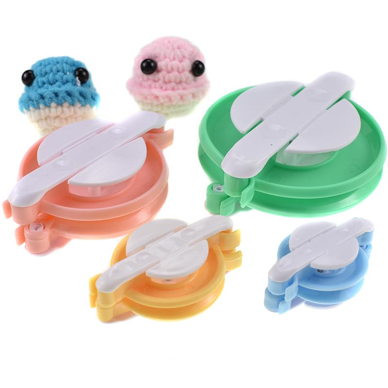 毛球器帽子围巾毛球绒球手工制作神器diy毛线羊绒圆形绒球制球器