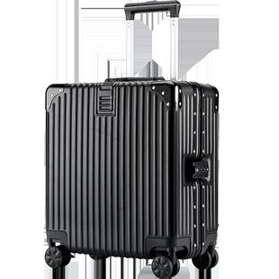 行李箱女網紅ins潮小型號輕便18寸登機拉桿箱迷你密碼旅行皮箱子