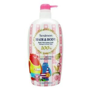 贝茜曼正品限量版婴幼儿洗发洗发水