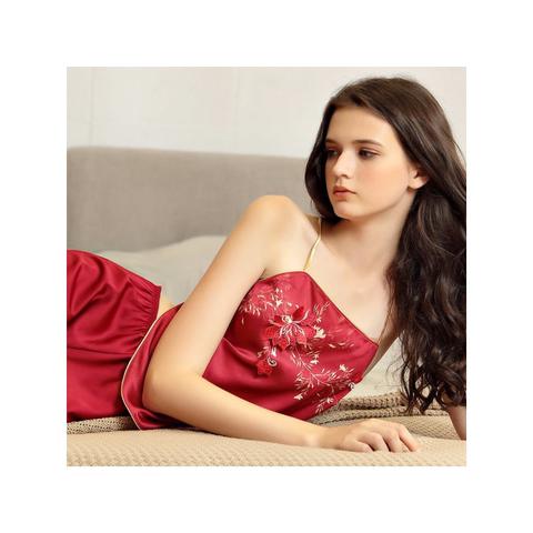 芭美纯女肚兜式内衣情调古风吊带两件套性感古代睡衣宫廷服装