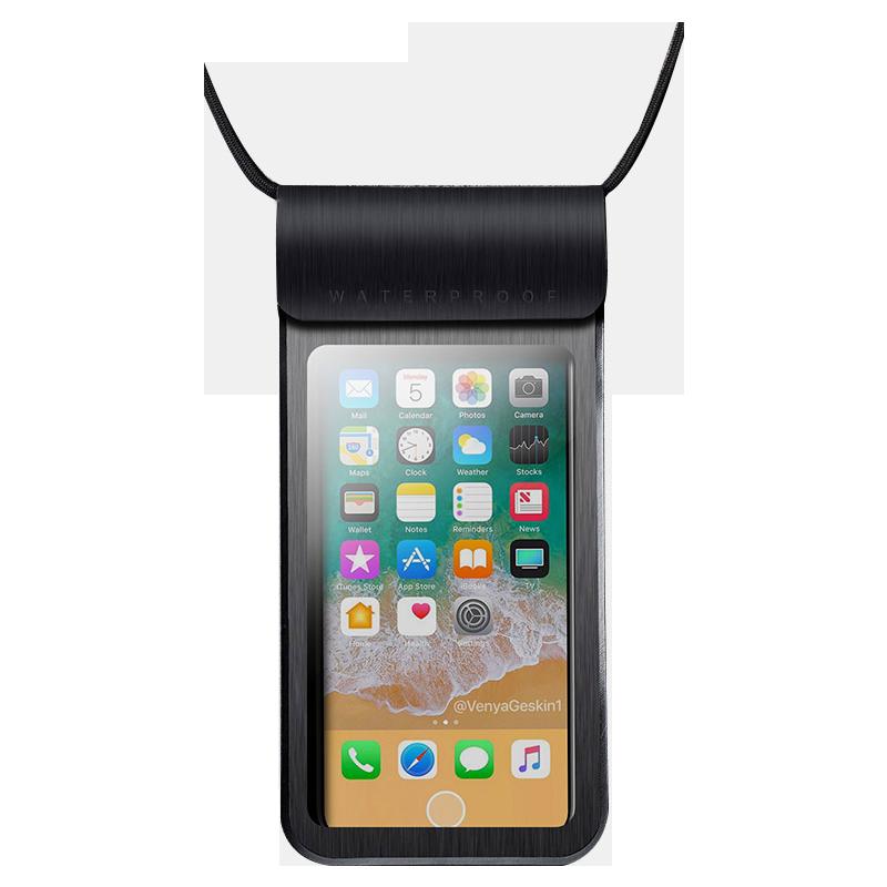 手机防水袋潜水套可触屏漂流游泳装备透明手机包密封外卖骑手专用