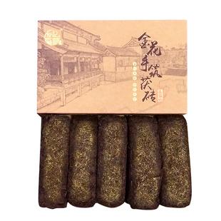 黑茶湖南安化正宗金花茯砖茶正品2012料特级安化黑茶友福记黑茶叶