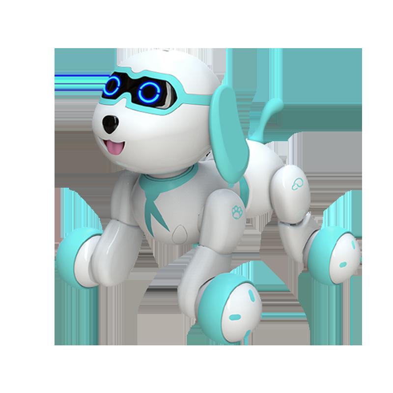 旺仔小六baby智能机器人狗狗电动儿童玩具遥控跳舞男女孩1-2-6岁3