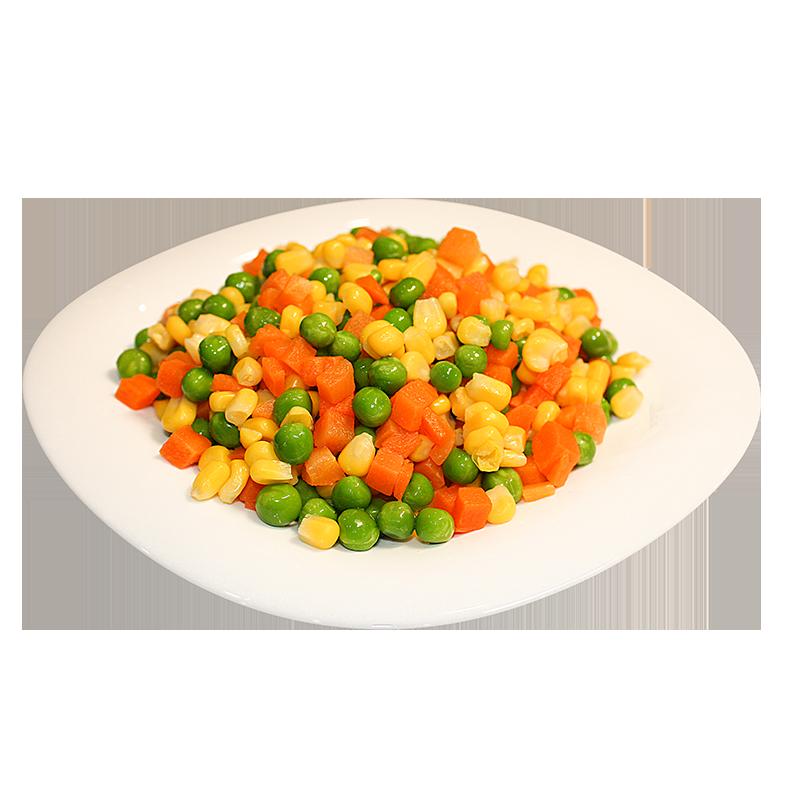 速冻混合蔬菜什锦美式杂菜三色菜青豆胡萝卜玉米粒什锦饭沙拉炒饭
