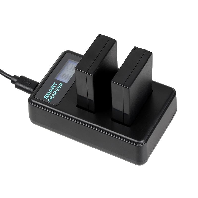 佳能lp-e12充电器佳能EOS M M2 M10 M50 M100 100D电池单反微单相机双充SX70 USB充电器锂电池数码配件座充