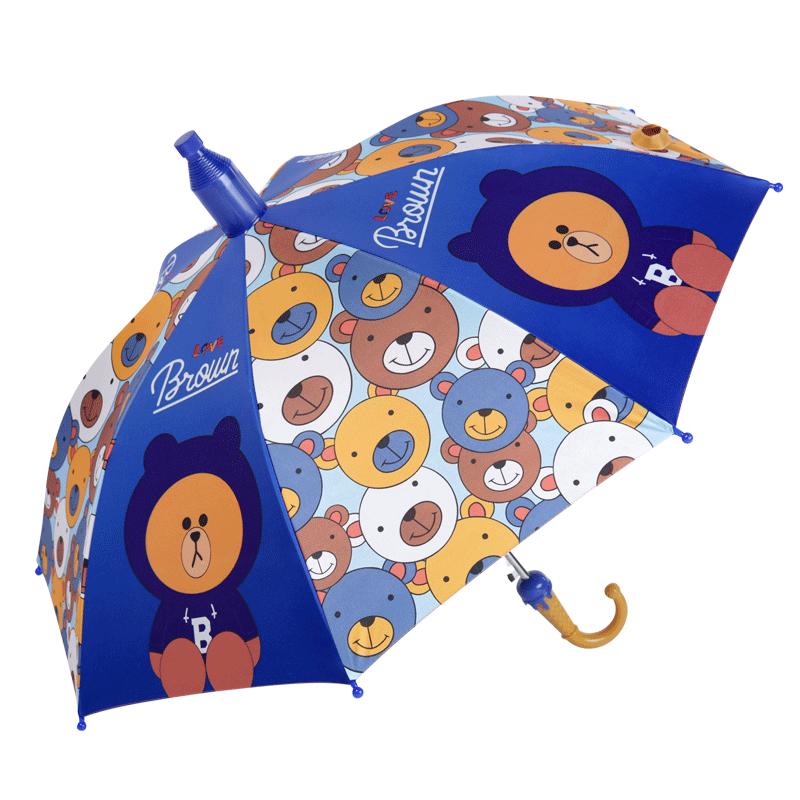 儿童雨伞超轻便宝宝幼儿园可爱小孩小学生男童女童全自动公主小伞