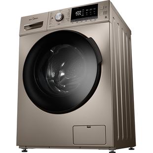 美的洗衣機滾筒10公斤全自動家用變頻烘乾一體空氣洗MD100-1431DG